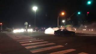 Cars and Coffee Wilmington Night Meet: Part 3: BURNOUTS, RACING, DONUTS AND MORE!! (8/18/18)