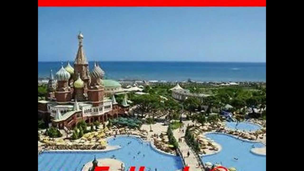 Wow Kremlin Palace Hotel Aksu Antalya Luxushotel Strandhotel