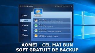 Aomei, cel mai bun soft gratuit de backup pentru Windows