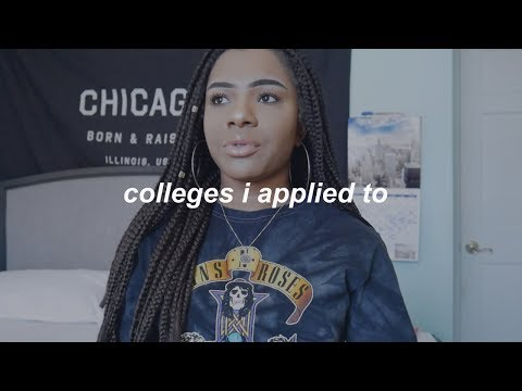 COLLEGES I APPLIED TO: GEORGETOWN, HOWARD, MICHIGAN, ETC.