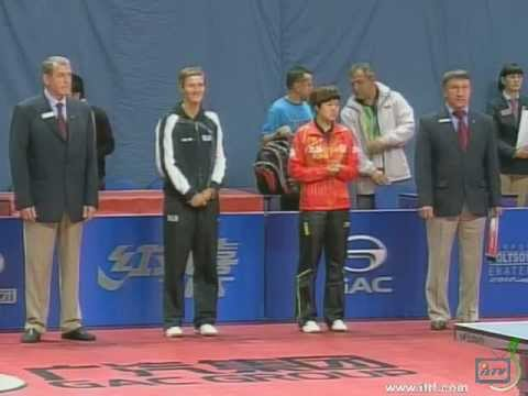 30. 2012 WORLD OPEN RUSSIA. 1/2 FINALs WOMEN: CHANG Chenchen (CHN) vs PAVLOVICH V. (BLR)