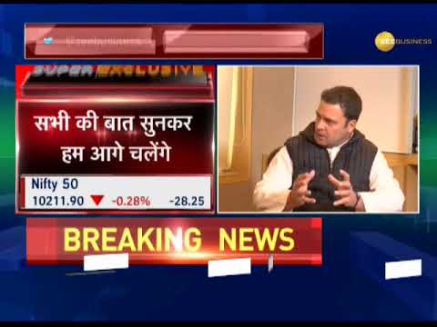 Watch Rahul Gandhi in an exclusive interview with Zee Media after becoming Congress President