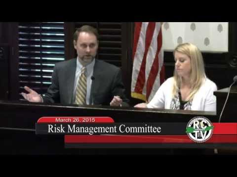 Risk Management Committee - March 26, 2015