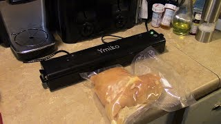 Product Review Ymiko Vacuum Sealer