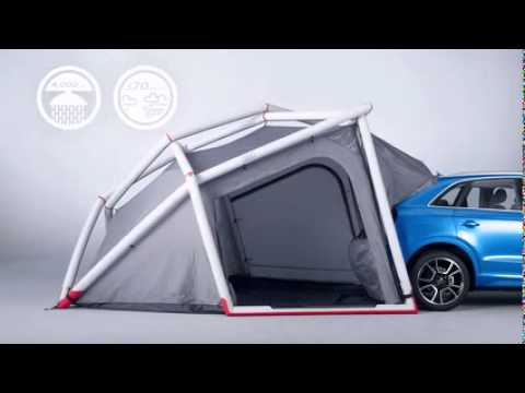 Wonderful Camping Tent  Audi Genuine Accessories  YouTube