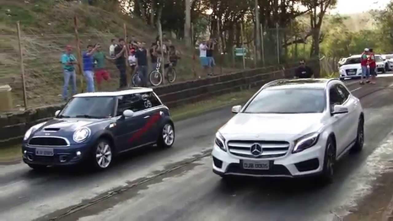 Mini Cooper S X Mercedes Benz Gla 250 1 8 Mile