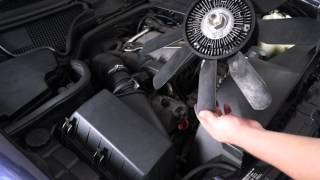 Замена натяжителя цепи ГРМ Mercedes W210 Spanner Steuerkette  (перезалив)