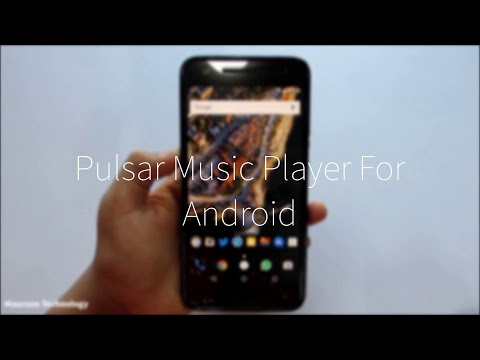 Pulsar Music Player For Android - Best Material Music Player!