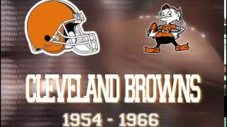 Cleveland Browns Footage 1957