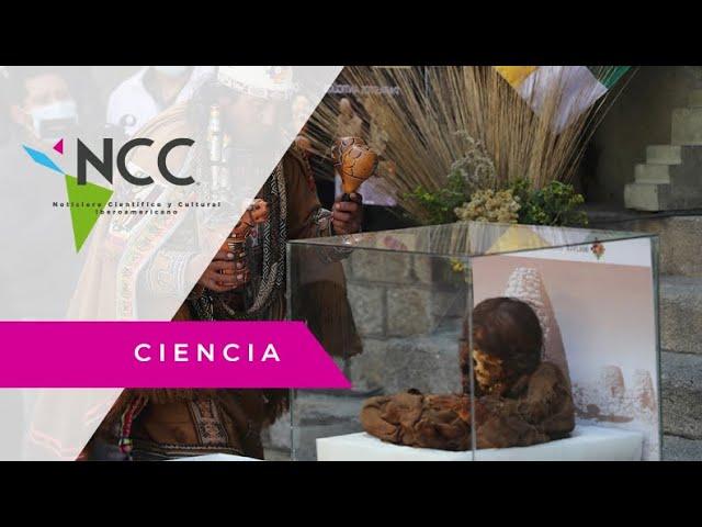 Saphi, la momia niña Inca repatriada a Bolivia