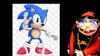 Classic Sonic Dances to Jeffy WHY Song!😂😂😂