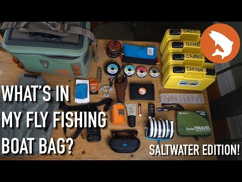 What's In My Fly Fishing Boat Bag? Saltwater Edition