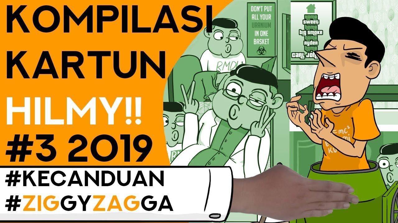 Kompilasi Kartun Hilmy 2019 3 Kartun Lucu Hilmymakarim