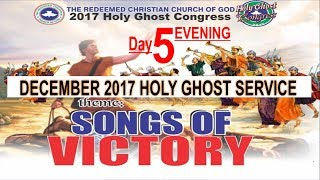 RCCG December 2017 HOLY GHOST SERVICE