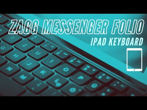 iPad Zagg Messenger Folio Keyboard  How does it work? : The Bear Tech Review