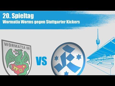 20. Spieltag, Wormatia Worms vs. Stuttgarter Kickers - Spielbericht+Interview