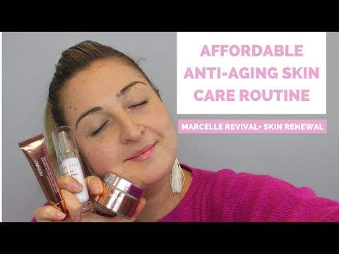 Affordable anti-aging skin care routine 2017   Marcelle REVIVAL+ SKIN RENEWAL