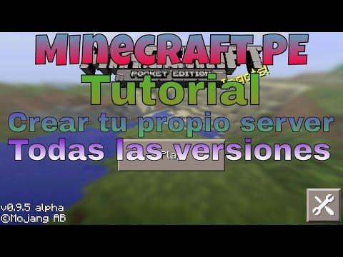Tutorial como crear un server en Minecraft PE 0.10.5