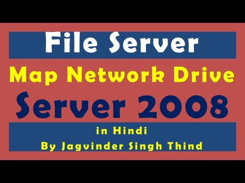 how to map network drive batch file
