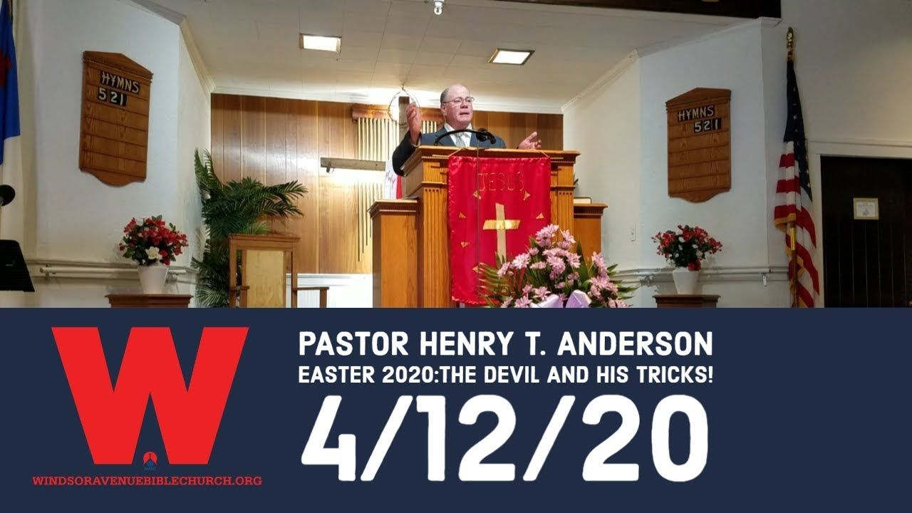 Easter 2020: The Devil and His Tricks!