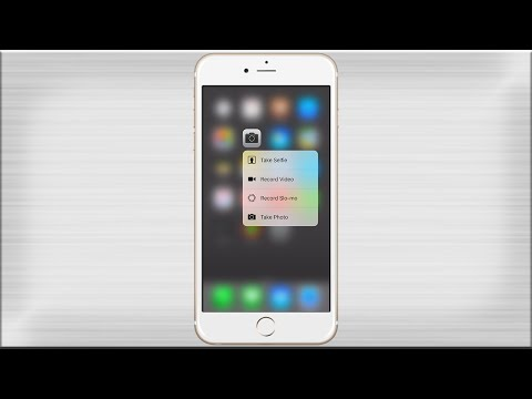 RevealMenu 3D Touch for iPhone 6/5S/5/4S - YouTube