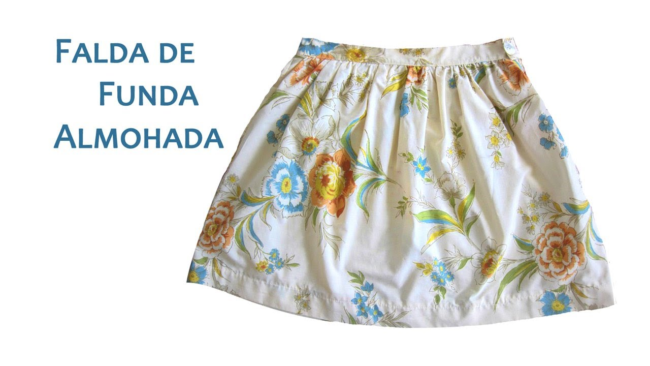 Falda de Funda de Almohada o Pillowcase Skirt - YouTube