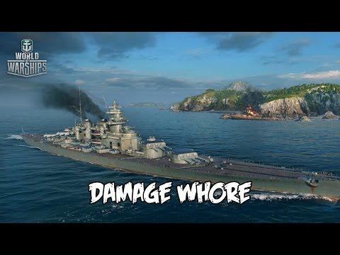 World of Warships - Damage Whore