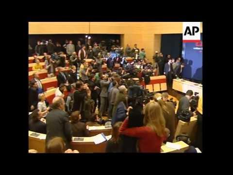 GERMANY: CHRISTIAN DEMOCRATS RALLY AROUND HELMUT KOHL