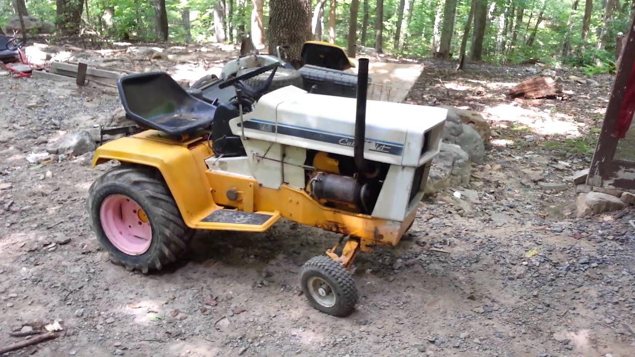 Cub Cadet 124 Pulling Tractor : Cub cadet pulling tractors bing images