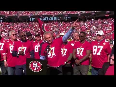 Dwight Clark speech at Levi's Stadium
