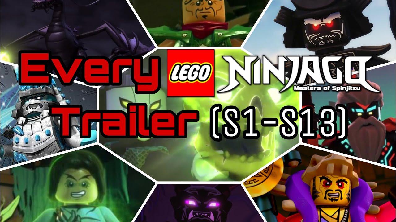 Download LEGO Ninjago | Every season's trailer (S1-S13)