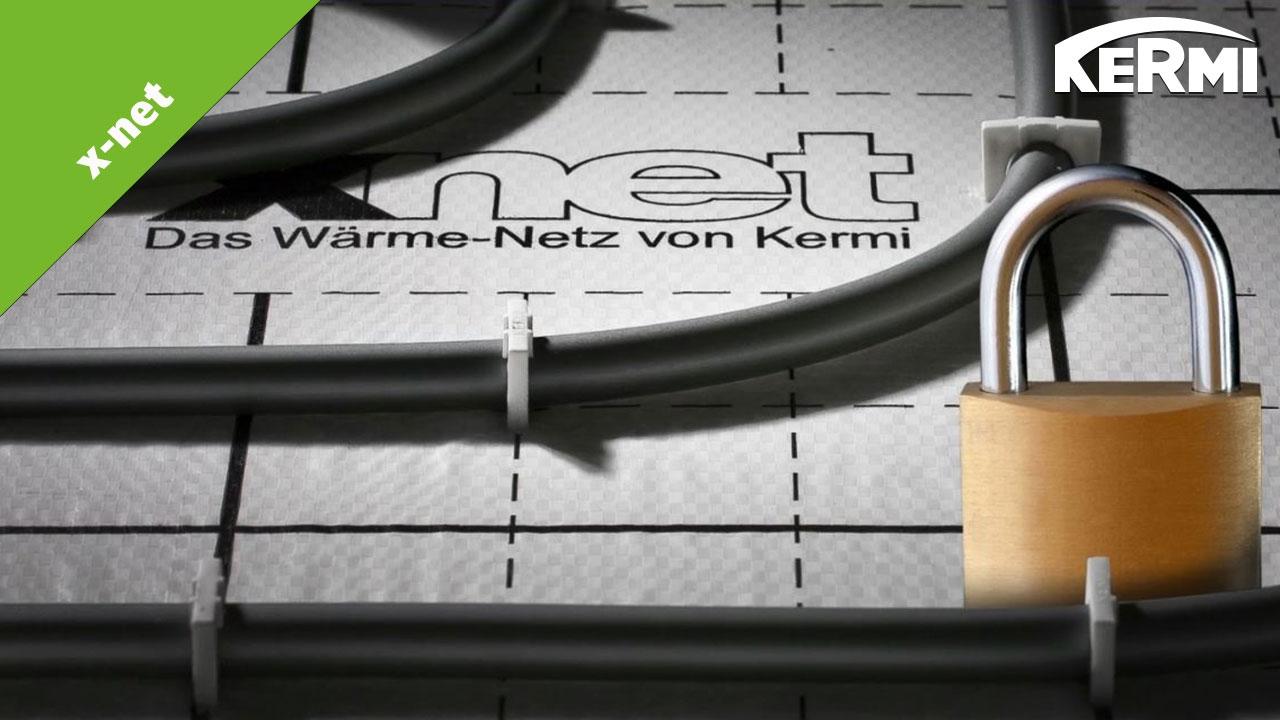 Fußbodendämmung Verlegen ~ Kermi x net c12 tackersystem fußbodenheizung youtube