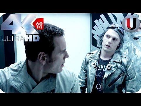Quicksilver & Magneto Prison Break - X-Men Days Of Future Past - MOVIE CLIP (4K HD)
