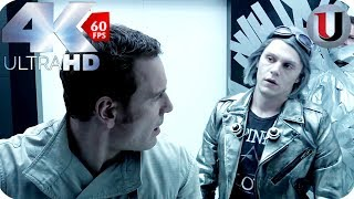 Quicksilver & Magneto Prison Break - X-Men Days of Future Past - MOVIE CLIP (4K HD)