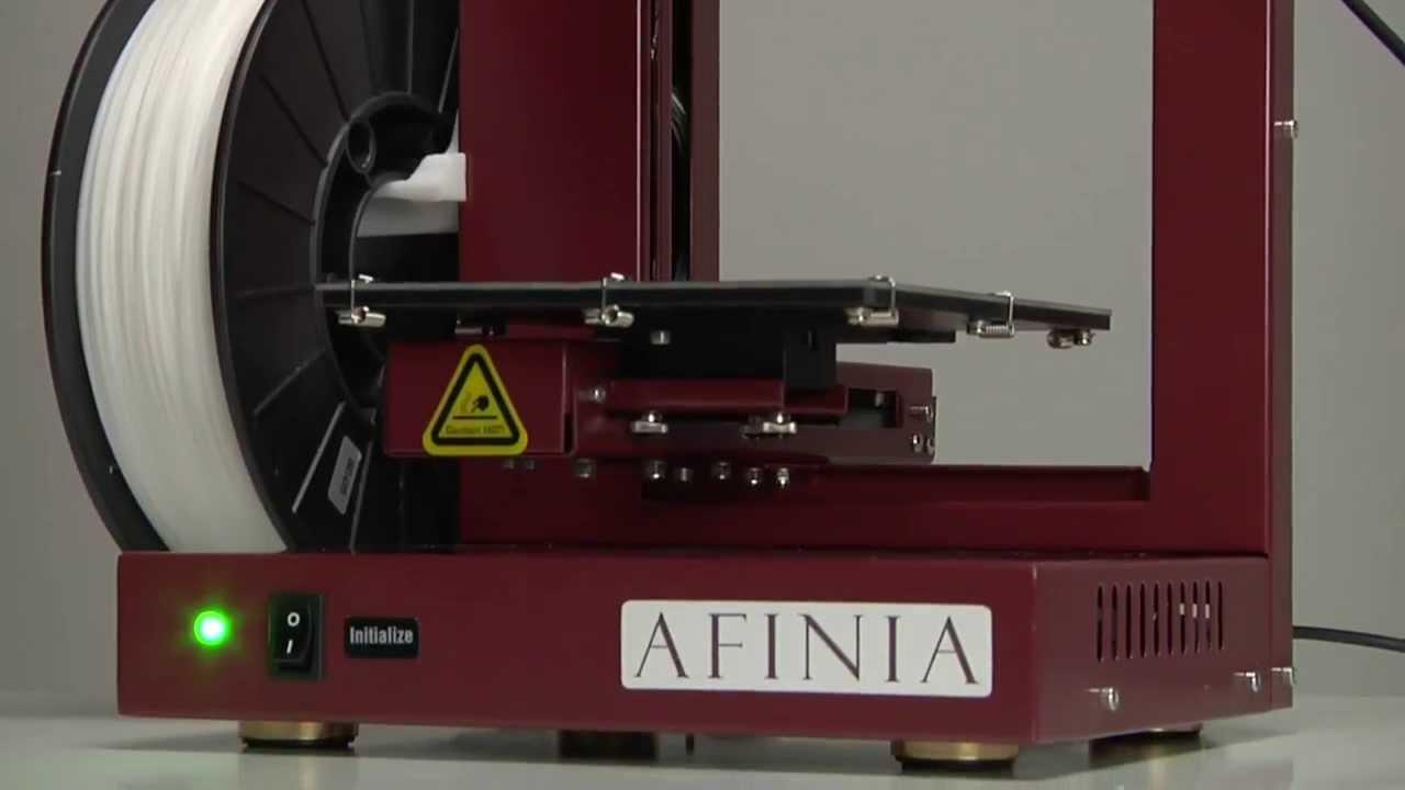 video Afinia H480 3D Printer