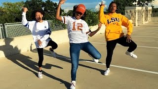 tz anthem challenge juju on dat beat dance 2016 ft the isaac sisters