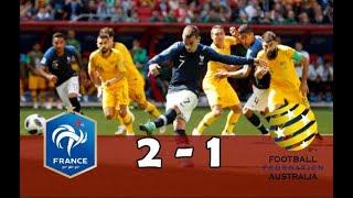 France - australie (2-1) | match replay (en 3d) avec le son rmc