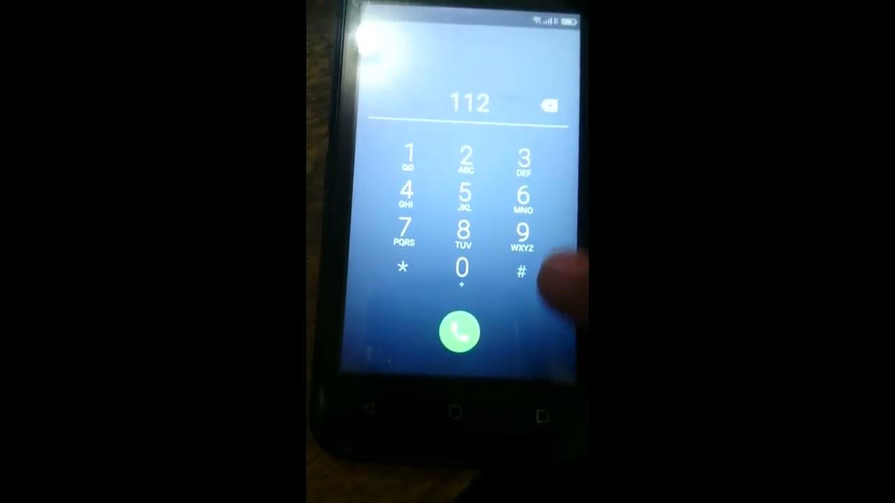 Frp Advan S4z Melewati Verifikasi Akun Google Dengan Panggilan Gold Darurat 112 Work 100
