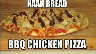 Bbq Chicken Pizza On Naan Bread