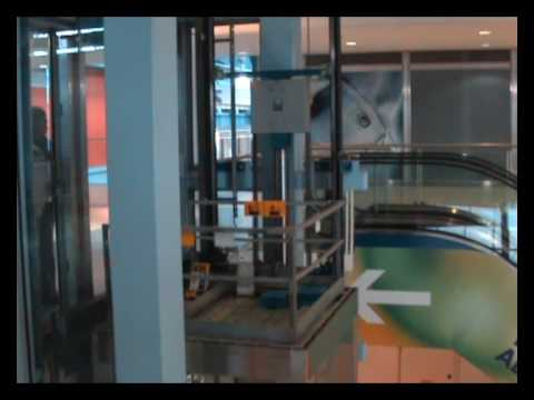 Roped Hydraulic lift diagram and movie - YouTube