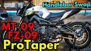 MT-09 FZ-09 ProTaper Installation How To