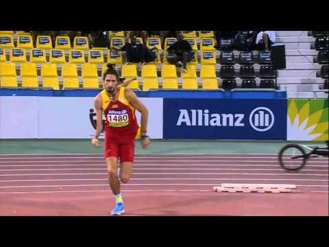 Men's high jump T47 | final |  2015 IPC Athletics World Championships Doha