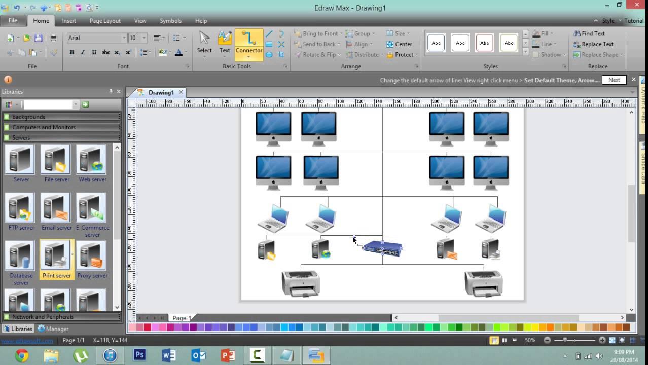 Create a Basic Network Diagram - Edraw 7