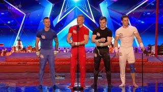 Britain's Got More Talent 2017 4G is Back Gymnastic Acrobats Full Clip S11E04