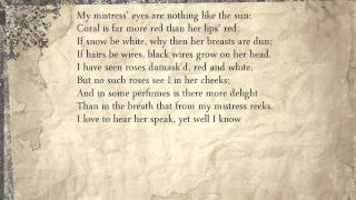 Sonnet 130 My Mistress Eyes Are Nothing Like The Sun