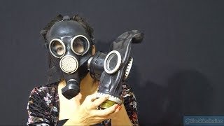 Masked Vlog: Russian GP-7 Gas Mask ''check out my new mask''