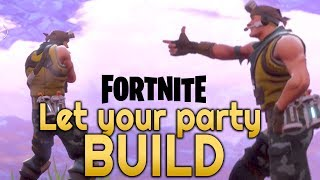 FORTNITE - How to give Party PERMISSIONS to build in your Storm Shield Base