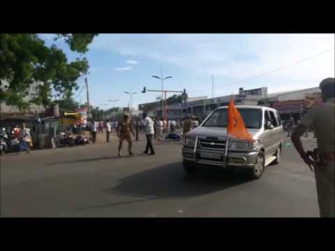 Kovai Hindu Munnani Riot Scenes