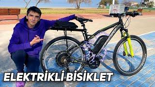 Normal Bisikleti ELEKTRİKLİ BİSİKLET Yaptım!
