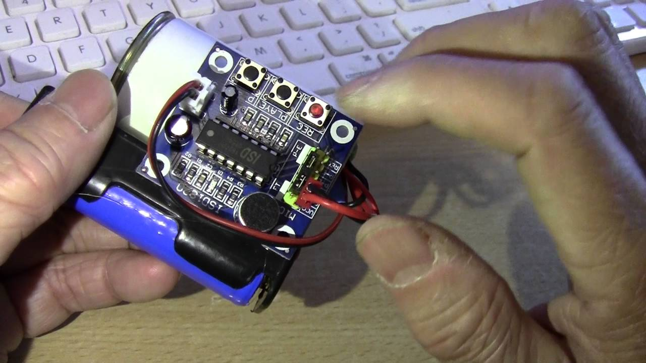 10 Second Digital Recorder With Loop Playback Youtube Voice And Circuit